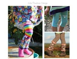 Foto zu Schnittmuster Leggings Stulp it or not von Lille Pindsvin Design