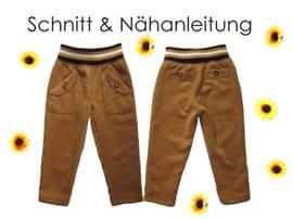 Produktfoto von Lunicum für Schnittmuster Hose mit Taschen