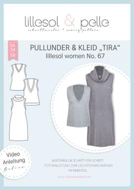 """Foto zu Schnittmuster Lillesol Women No. 67 Pullunder & Kleid """"Tira"""" von Lillesol & Pelle"""
