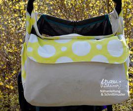Foto zu Schnittmuster Kinderwagentasche von Frau Scheiner