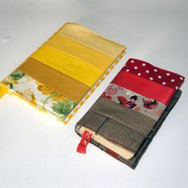 Foto zu Schnittmuster Buchhülle und Buchcover von Frau Scheiner