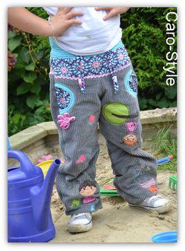 Foto zu Schnittmuster Ballonhose Kinder - Deine Svenna von Meine Herzenswelt