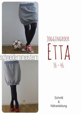 Foto zu Schnittmuster Joggingrock Etta von schneidernmeistern