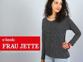 Produktfoto zu Kombi Ebook FRAU JETTE & JETTE Fledermausshirts im Partnerlook von Anja // STUDIO SCHNITTREIF