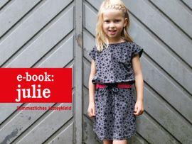 Produktfoto zu Kombi Ebook FRAU JULIE & JULIE Jerseykleider im Partnerlook von Anja // STUDIO SCHNITTREIF
