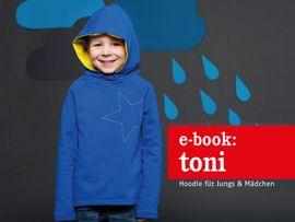 Produktfoto zu Kombi Ebook TONI FAMILIE  Kapuzensweater im Partnerlook von Anja // STUDIO SCHNITTREIF