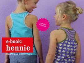 Produktfoto zu Kombi Ebook FRAU HENNIE & HENNIE Tops im Partnerlook von Anja // STUDIO SCHNITTREIF