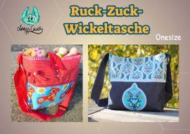 Foto zu Schnittmuster Ruck Zuck Wickeltasche von Annas-Country