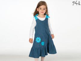 Produktfoto zu Kombi Ebook Siena und Steffi Mädchenkleid von mail(at)alessia-altimari.com
