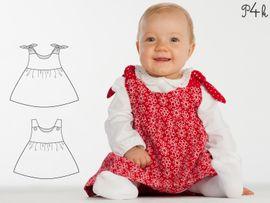 Produktfoto zu Kombi Ebook Elisa und Lipsia - Kleid und Pumphose kombiniert von mail(at)alessia-altimari.com