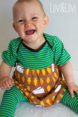 Foto zu Schnittmuster #24 Baby Basic Dress von Kid5