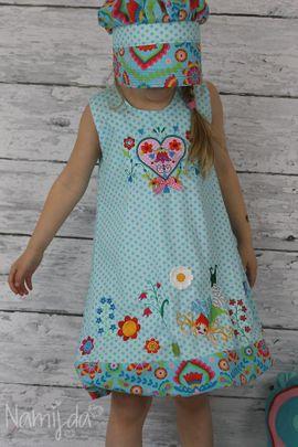 Foto zu Schnittmuster Ballonkleid Kinder - Neela von Meine Herzenswelt