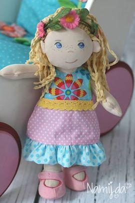 Foto zu Schnittmuster Puppenkleid Kinder - Neela von Meine Herzenswelt