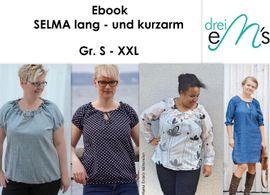 Foto zu Schnittmuster Bluse Selma von drei eMs