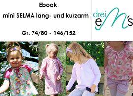 Foto zu Schnittmuster Bluse Mini Selma von drei eMs