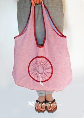 Foto zu Schnittmuster Faltbare Einkaufstasche Lola_B von B-Patterns