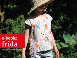 Produktfoto zu Kombi Ebook FRAU FRIDA 6 FRIDA lufige Sommerblusen im Partnerlook von Anja // STUDIO SCHNITTREIF