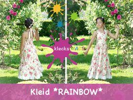 Foto zu Schnittmuster Rainbow von klecksMACS