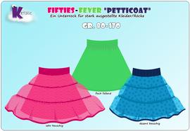 Foto zu Schnittmuster Fifties-Fever Petticoat von KillerTasche