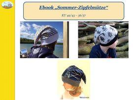Foto zu Schnittmuster Sommer-Zipfelmütze von Caro's Nähseum