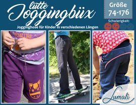 Foto zu Schnittmuster Joggingbüx for Kids von Lumali