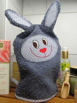 Foto zu Schnittmuster Tierischer Waschlappen Hase von I'm sew happy!