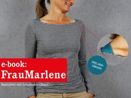 Produktfoto zu Kombi Ebook FRAU MARLENE & MARLENE Shirts im Partnerlook von Anja // STUDIO SCHNITTREIF