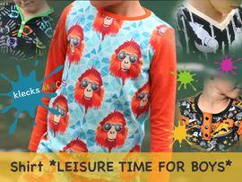 Foto zu Schnittmuster Leisure Time for Boys von klecksMACS