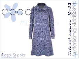Foto zu Schnittmuster Lillesol women No.13 Winterkombi Kleid & Shirt von Lillesol & Pelle