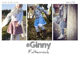 Foto zu Schnittmuster Faltenrock Ginny von rosarosa
