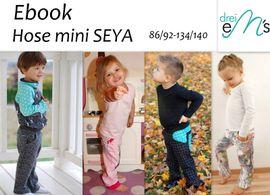 Foto zu Schnittmuster Hose Mini Seya von drei eMs
