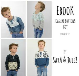 Foto zu Schnittmuster Casual Buttons Boy von Sara & Julez