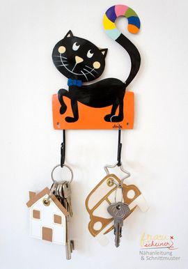 Foto zu Schnittmuster Schlüsselband und Schlüsselanhänger von Frau Scheiner