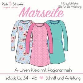 Foto zu Schnittmuster Kleid Marseille von Pech & Schwefel