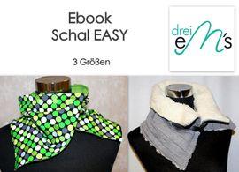 Foto zu Schnittmuster Schal Easy von drei eMs