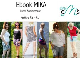 Foto zu Schnittmuster Kurze Sommerhose Mika von drei eMs