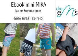 Foto zu Schnittmuster mini MIKA von drei eMs