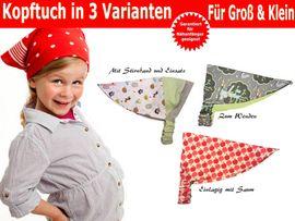 Foto zu Schnittmuster Kopftuch in 3 Varianten von Trash Monstarz