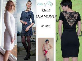 Foto zu Schnittmuster Kleid Diamond von drei eMs