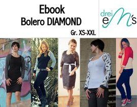 Foto zu Schnittmuster Bolero Diamond von drei eMs