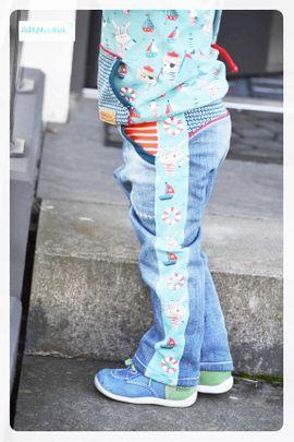 Foto zu Schnittmuster Cool Stripes von Mamilu Design