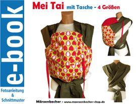 Foto zu Schnittmuster Mei Tai mit Tasche von Märzenbecher