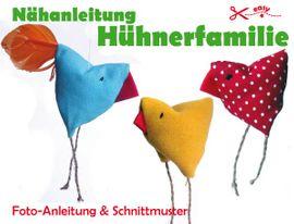 Foto zu Schnittmuster Osterhühner von Märzenbecher