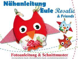 Foto zu Schnittmuster Eule Rosalie & Friends von Märzenbecher