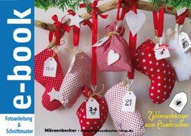 Foto zu Schnittmuster Adventskalender Stiefel, Säckchen und Handschuh von Märzenbecher