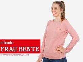 Produktfoto zu Kombi Ebook FRAU BENTE & BENTE Sweater im Partnerlook von Anja // STUDIO SCHNITTREIF