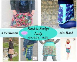 Foto zu Schnittmuster Rock'n Stripe Lady von Mamilu Design