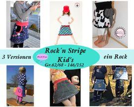 Foto zu Schnittmuster Rock'n Stripe Kids von Mamilu Design