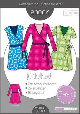 Foto zu Schnittmuster Basic Wickelkleid von ki-ba-doo