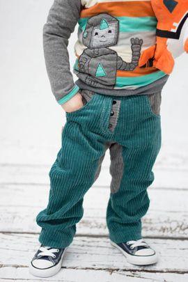 Foto zu Schnittmuster Hose Kinder - Deine Sverre von Meine Herzenswelt